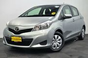 2012 Toyota Yaris NCP130R YR Green 4 Speed Automatic Hatchback Edgewater Joondalup Area Preview