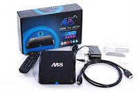 ANDROID 4.4 SMART TV BOX M8 QUAD CORE NEW WITH XBMC/KODI