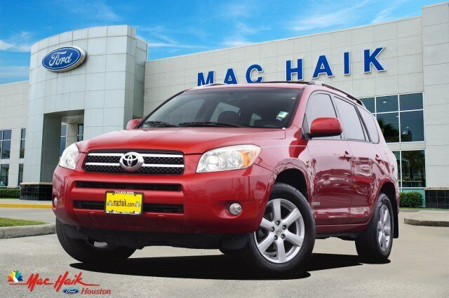 2006 Toyota RAV4 Limited 118001 Miles Barcelona Red Metallic Sport Utility Gas I