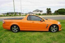 2013 Holden Ute VF MY14 SV6 Ute Orange 6 Speed Manual Utility Wangara Wanneroo Area Preview