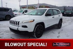 2015 Jeep Cherokee SPORT Accident Free,  Bluetooth,  A/C,
