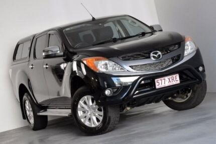 2011 Mazda BT-50 UP0YF1 XTR Black 6 Speed Sports Automatic Utility