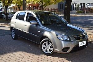 2009 Kia Rio JB MY09 LX Grey 4 Speed Automatic Hatchback Stepney Norwood Area Preview