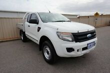 2011 Ford Ranger PX XL Super Cab White 6 Speed Manual Cab Chassis Pearsall Wanneroo Area Preview