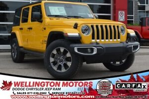 2019 Jeep Wrangler Unlimited Sahara / Trailer Tow & HD Electrica