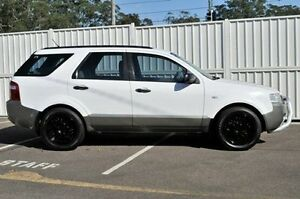 2006 Ford Territory SY TS AWD White 6 Speed Sports Automatic Wagon North Gosford Gosford Area Preview