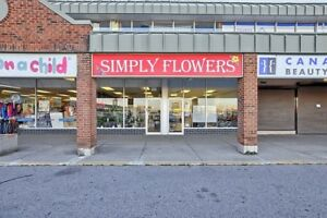 BE YOUR OWN BOSS - Flower Shop in Newmarket for sale