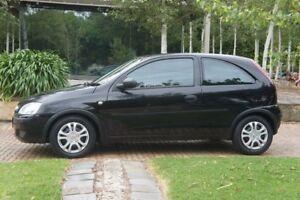 2005 Holden Barina XC MY05 SXI Black Quartz 4 Speed Automatic Hatchback