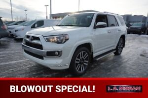 2016 Toyota 4Runner 4X4 LIMITED Accident Free,  Navigation (GPS)