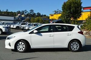 2014 Toyota Corolla White Constant Variable Hatchback Highland Park Gold Coast City Preview