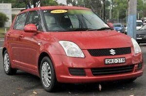 2007 Suzuki Swift RS415 Red 5 Speed Manual Hatchback North Gosford Gosford Area Preview