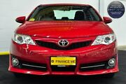 2013 Toyota Camry ASV50R Atara S Red/Black 6 Speed Sports Automatic Sedan Canning Vale Canning Area Preview