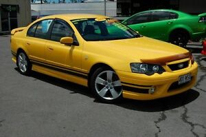 2006 Ford Falcon BF XR6 Yellow Automatic Sedan Shailer Park Logan Area Preview