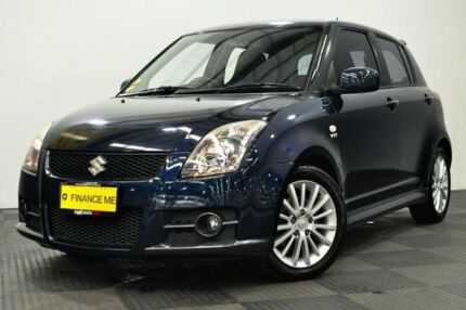 2008 Suzuki Swift RS416 Sport Blue 5 Speed Manual Hatchback Edgewater Joondalup Area Preview