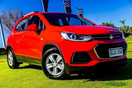 2017 Holden Trax TJ MY17 LS Red 6 Speed Automatic Wagon Wangara Wanneroo Area Preview