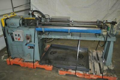 14 Shuster Wire Straightener And Cut Off Variable Speed 2 Feed Roll 20-200 Fpm