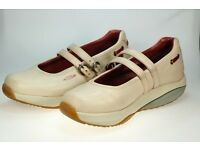 Ladies Cream MBT Shoes size 5 ½