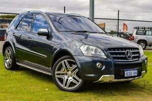 2010 Mercedes-Benz ML63 AMG W164 09 Upgrade 4x4 Grey 7 Speed Automatic G-Tronic Wagon