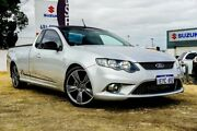2010 Ford Falcon FG XR6 Ute Super Cab 50th Anniversary Silver 6 Speed Manual Utility Wangara Wanneroo Area Preview