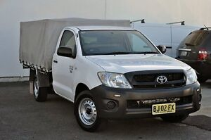 2010 Toyota Hilux TGN16R MY10 Workmate White 5 Speed Manual Utility Tweed Heads South Tweed Heads Area Preview