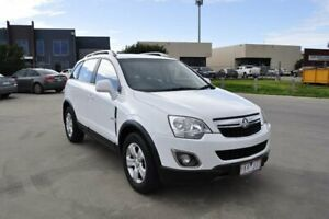 2011 Holden Captiva CG Series II 5 (FWD) White 6 Speed Manual Wagon Hoppers Crossing Wyndham Area Preview