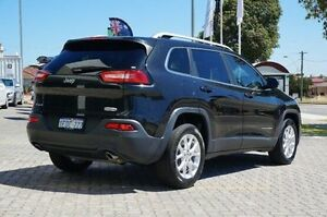 2014 Jeep Cherokee KL Longitude Black 9 Speed Sports Automatic Wagon St James Victoria Park Area Preview