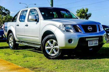 2014 Nissan Navara D40 S7 ST Silver 6 Speed Manual Utility Wangara Wanneroo Area Preview