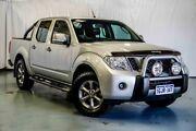 2014 Nissan Navara D40 S7 Titanium Silver 6 Speed Manual Utility Wangara Wanneroo Area Preview