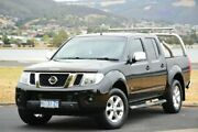 2012 Nissan Navara D40 S5 MY12 ST-X 550 Black 7 Speed Sports Automatic Utility Derwent Park Glenorchy Area Preview