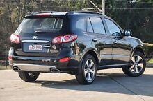 2012 Hyundai Santa Fe DM MY13 Highlander Black 6 Speed Sports Automatic Wagon Helensvale Gold Coast North Preview