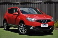 2012 Nissan Dualis J10W Series 3 MY12 Ti Hatch X-tronic 2WD Red 6 Speed Constant Variable Hatchback Knoxfield Knox Area Preview