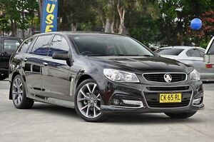 2013 Holden Commodore VF MY14 SS V Sportwagon Black 6 Speed Sports Automatic Wagon Southport Gold Coast City Preview