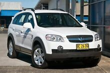 2009 Holden Captiva CG MY09 White 5 Speed Sports Automatic Wagon South Lismore Lismore Area Preview
