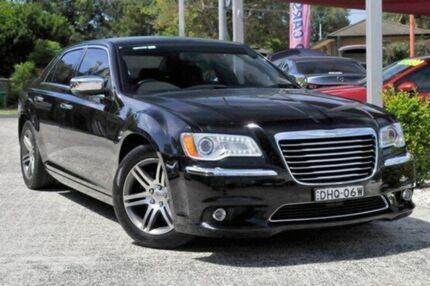 2012 Chrysler 300 MY12 Limited Black 8 Speed Automatic Sedan Gosford Gosford Area Preview