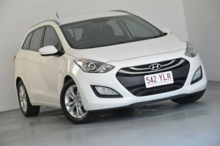 2014 Hyundai i30 GD Active Tourer White 6 Speed Sports Automatic Wagon Kedron Brisbane North East Preview