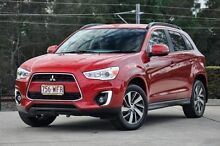 2014 Mitsubishi ASX XB MY15 LS 2WD Red 6 Speed Constant Variable Wagon Helensvale Gold Coast North Preview