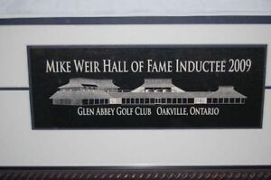 Mike Weir Framed Golf Collectibles Strathcona County Edmonton Area image 5