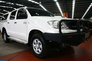 2010 Toyota Hilux KUN26R MY10 SR Satin White 4 Speed Automatic Utility Maryville Newcastle Area Preview