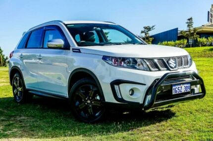 2018 Suzuki Vitara LY S Turbo 2WD White 6 Speed Sports Automatic Wagon Wangara Wanneroo Area Preview