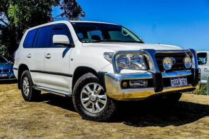 2007 Toyota Landcruiser VDJ200R GXL White 6 Speed Sports Automatic Wagon Wangara Wanneroo Area Preview