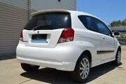 2007 Holden Barina TK MY07 White 4 Speed Automatic Hatchback Ashmore Gold Coast City Preview
