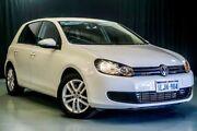 2012 Volkswagen Golf VI MY12.5 118TSI DSG Comfortline White 7 Speed Sports Automatic Dual Clutch Wangara Wanneroo Area Preview