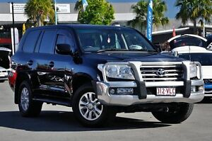 2007 Toyota Landcruiser VDJ200R Sahara Black 6 Speed Sports Automatic Wagon Robina Gold Coast South Preview