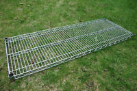 """Chrome replacement rack shelve size 48""""x18"""""""