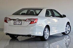 2012 Toyota Camry ASV50R Atara S White 6 Speed Sports Automatic Sedan Southport Gold Coast City Preview