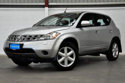 2006 Nissan Murano Z50 ST Silver 6 Speed Constant Variable Wagon Thornlie Gosnells Area Preview