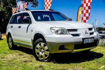 2005 Mitsubishi Outlander ZF LS White 4 Speed Sports Automatic Wagon Wangara Wanneroo Area Preview