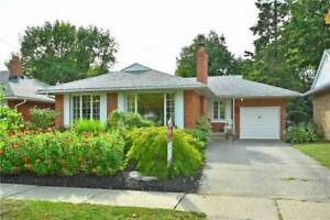 *Rarely Available* Charming and Clean 3+1 Bungalow in Etobicoke