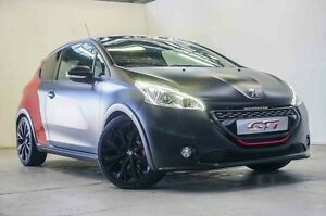 2015 Peugeot 208 A9 MY14 GTI 30th Anniversary Black & Red 6 Speed Manual Hatchback Osborne Park Stirling Area Preview