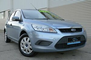2009 Ford Focus LT CL Blue 5 Speed Manual Hatchback Ashmore Gold Coast City Preview
